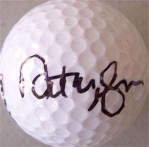 Natalie Gulbis autographed golf ball