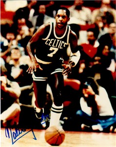Nate Archibald autographed Boston Celtics 8x10 photo