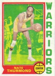 Nate Thurmond 1974-75 Topps basketball card