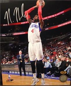 Nerlens Noel autographed Philadelphia 76ers 8x10 photo