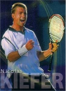 Nicolas Kiefer 2000 ATP Tour card RARE