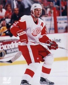 Nicklas Lidstrom Detroit Red Wings 8x10 photo