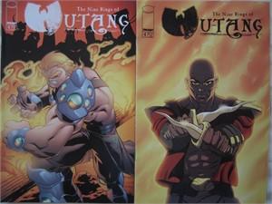 Nine Rings of Wu-Tang comic book #4 set (regular and variant covers)