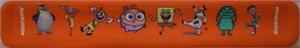 Nickelodeon promo wristband (Jimmy Neutron, Spongebob Squarepants)