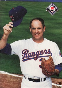 Nolan Ryan Rangers 1993 Mother's Cookies Farewell card #10