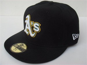 Oakland A's authentic New Era 2008-2010 alternate game model cap or hat (fitted size 7 7/8)