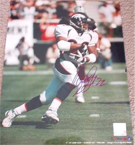 Olandis Gary autographed Denver Broncos 11x14 photo