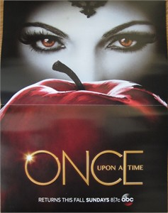 Once Upon A Time 2013 Comic-Con mini ABC Marvel promo poster