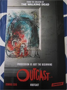 Outcast 2015 San Diego Comic-Con Cinemax mini 11x17 promo poster MINT