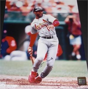 Ozzie Smith autographed St. Louis Cardinals 8x10 photo