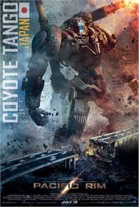 Pacific Rim 2013 Wondercon promo Coyote Tango 13x20 inch movie poster