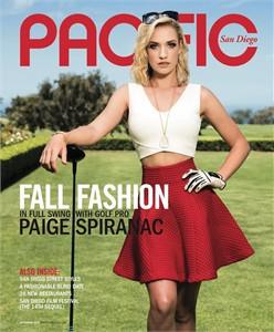 Paige Spiranac 2015 Pacific San Diego magazine MINT