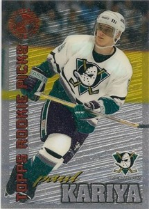 Paul Kariya Ducks 1995 Stadium Club Members Only card
