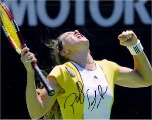 Patty Schnyder autographed 8x10 tennis photo