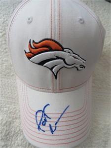 Pat Bowlen autographed Denver Broncos Reebok cap or hat