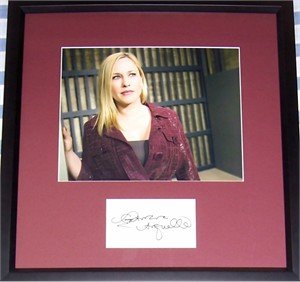 Patricia Arquette autograph matted & framed with Medium 8x10 photo