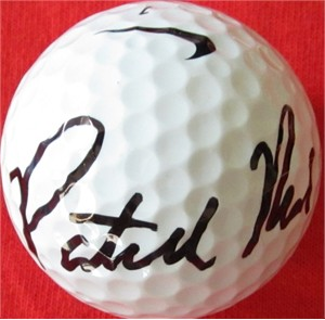 Patrick Reed autographed 2013 PGA Farmers Insurance Open tournament Nike 20XI golf ball