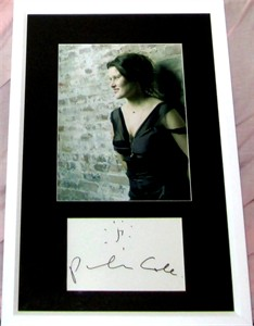 Paula Cole autograph matted & framed with 8x10 portrait photo