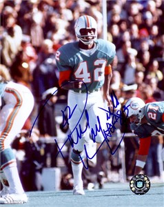 Paul Warfield autographed 8x10 Miami Dolphins photo