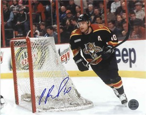 Pavel Bure autographed Florida Panthers 8x10 photo