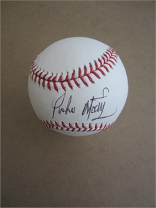 Pedro Martinez autographed official MLB baseball