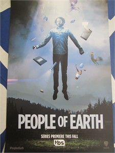People of Earth 2016 Comic-Con 11x17 inch TBS promo poster (Wyatt Cenac)