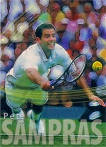 Pete Sampras 2000 ATP Tour card RARE