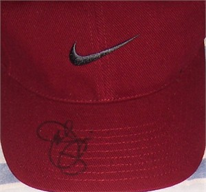 Joe Pesci autographed Nike golf cap or hat