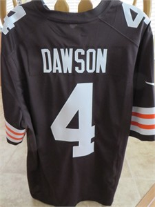 Phil Dawson 2012 Cleveland Browns #4 authentic Nike stitched size XL jersey NEW