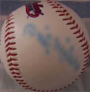 Phil Niekro autographed Colorado Silver Bullets baseball