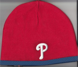 Philadelphia Phillies New Era Authentic Collection knit cap or hat NEW WITH TAGS