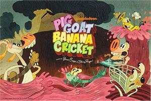 Pig Goat Banana Cricket 2015 Comic-Con 5x7 promo card