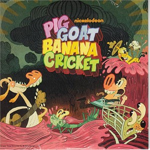 Pig Goat Banana Cricket 2015 Comic-Con promo DVD