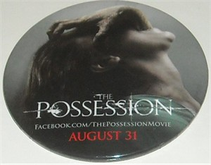 Possession movie 2012 Comic-Con promo button or pin