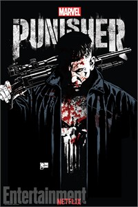 Punisher 2017 Comic-Con exclusive Marvel mini 13x20 inch poster (Jon Bernthal)
