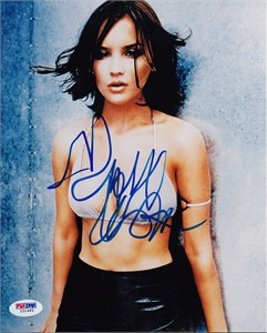 Rachael Leigh Cook autographed sexy 8x10 photo PSA/DNA