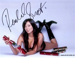 Rachel Grant autographed 8x10 lingerie photo