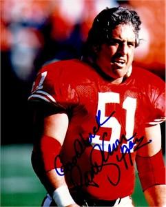 Randy Cross autographed San Francisco 49ers 8x10 photo