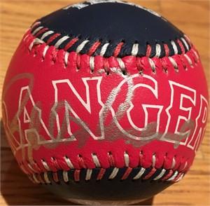 Rafael Palmeiro autographed Texas Rangers baseball