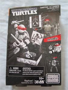 Raphael Teenage Mutant Ninja Turtles 2016 Comic-Con Mega Bloks toy NEW