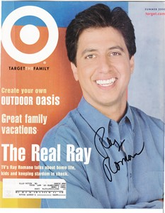 Ray Romano autographed Target magazine cover