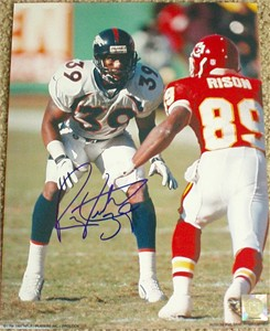 Ray Crockett autographed Denver Broncos 11x14 photo