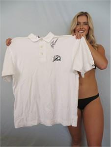 Retief Goosen autographed 2001 U.S. Open Southern Hills golf shirt