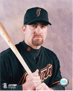 Rich Aurilia San Francisco Giants 8x10 portrait photo