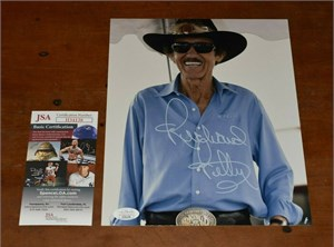 Richard Petty autographed 8x10 portrait photo (PSA/DNA)