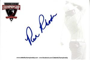 Rick Rhoden autographed 4x6 signature card