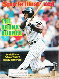 Rickey Henderson New York Yankees 1986 Sports Illustrated