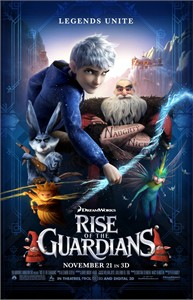 Rise of the Guardians 2012 mini movie poster