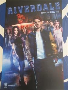 Riverdale 2016 Comic-Con 11x17 inch mini promo WB poster (K.J. Apa)