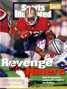 Ricky Watters autographed San Francisco 49ers 1994 Sports Illustrated